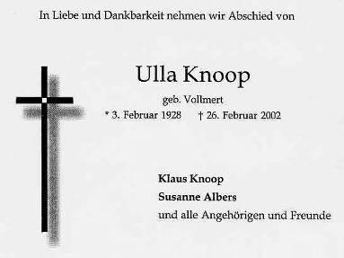 Ulla Knoop
